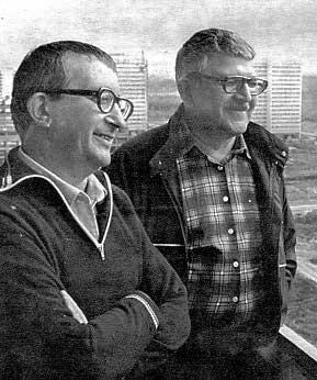 Аркадий и Борис Стругацки